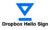 Dropbox Hello Sign